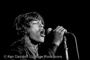 1969 Palm Beach Pop Festival - Mick Jagger - photo by Ken Davidoff