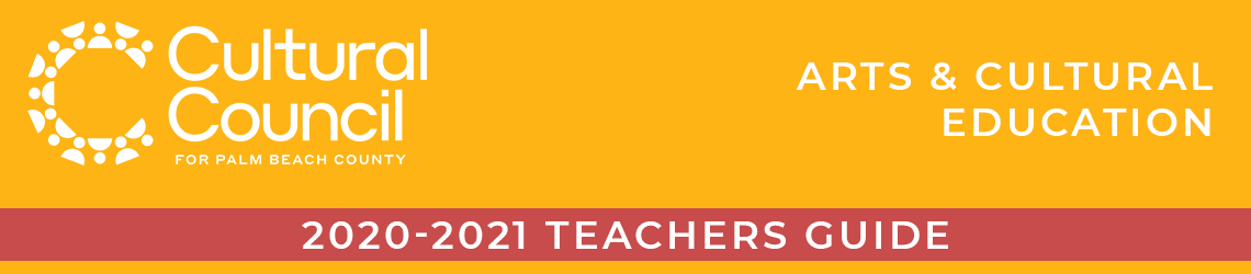 2020-2021 Teachers Guide for Arts & Cultural Education