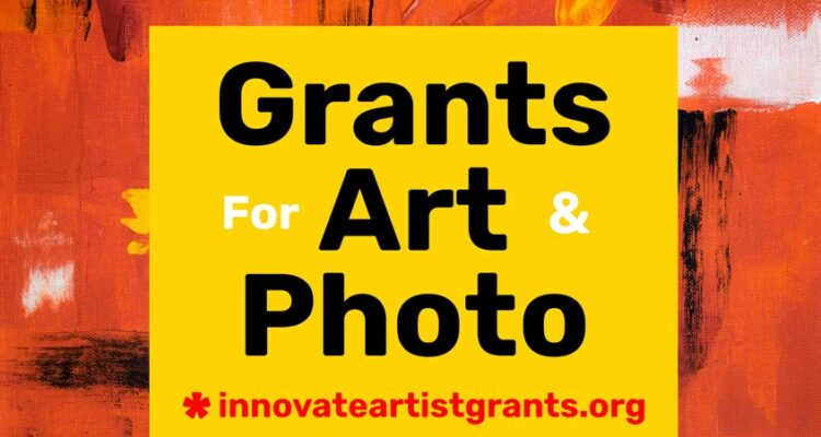 innovate grants call for artists