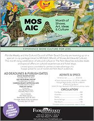 Florida Weekly MOSAIC 2021 co-op flyer