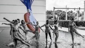 Life in Palm Beach County - Samuel Spear - Pool Dancers