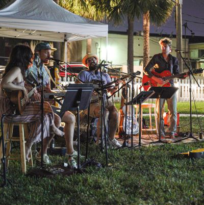 JJ and the Florida Oranges - pop-up performance
