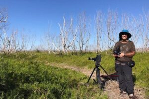Artists in Residence in Everglades
