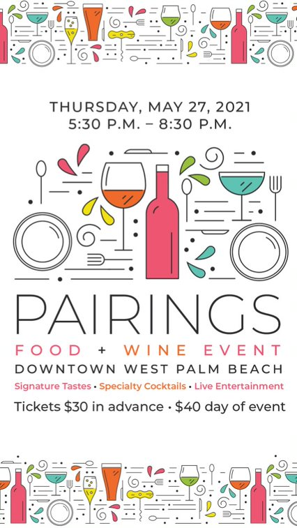 15% Off Tickets to 9th Annual Pairings Food & Wine Event