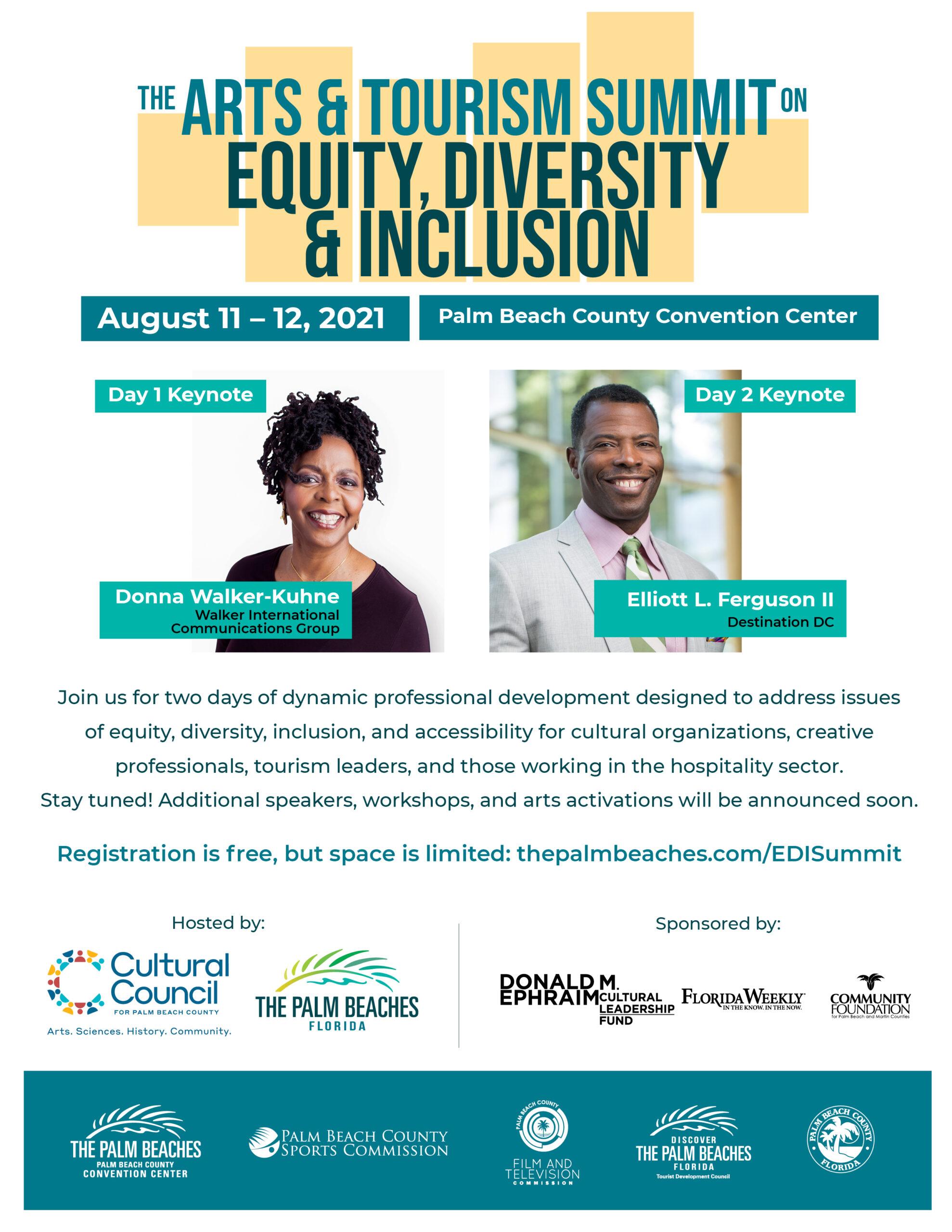 Arts & Tourism Equity Diversity & Inclusion Summit