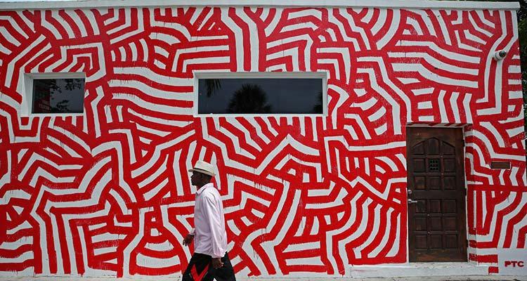 David Paul Kay mural Delray Beach