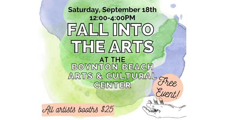 Fall into the Arts Boynton Beach