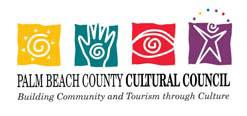 Palm Beach County Cultural Council Logo 1992