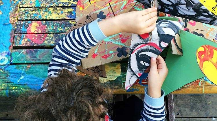 Family Saturdays: Gather Around, Rhythmic Storytelling and Recyclable Art