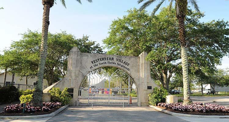 Yesteryear Village Archway Gate