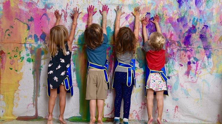 Family Saturdays: Make a Splash! Family Art