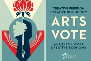 ArtsVote Shepard Fairey artwork