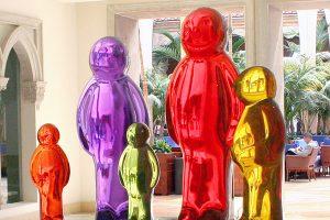 Boca Raton Resort & Club - Jelly Baby Family by Mauro Perucchetti