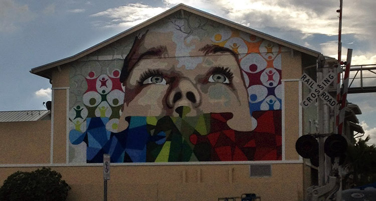 Eduardo Mendieta Mural Lake Worth FL