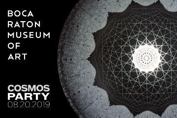 Carol Prusa - Cosmic Web - Boca Raton Museum of Art Cosmos Party