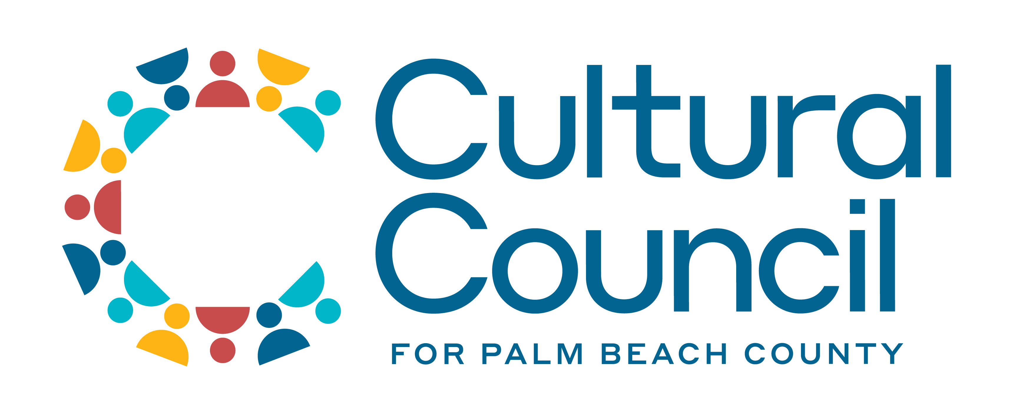 Cultural Council for Palm Beach County 2020 logo - full color