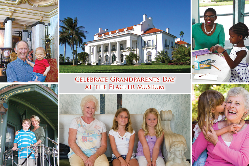 Celebrate Grandparents Day at The Flagler Museum