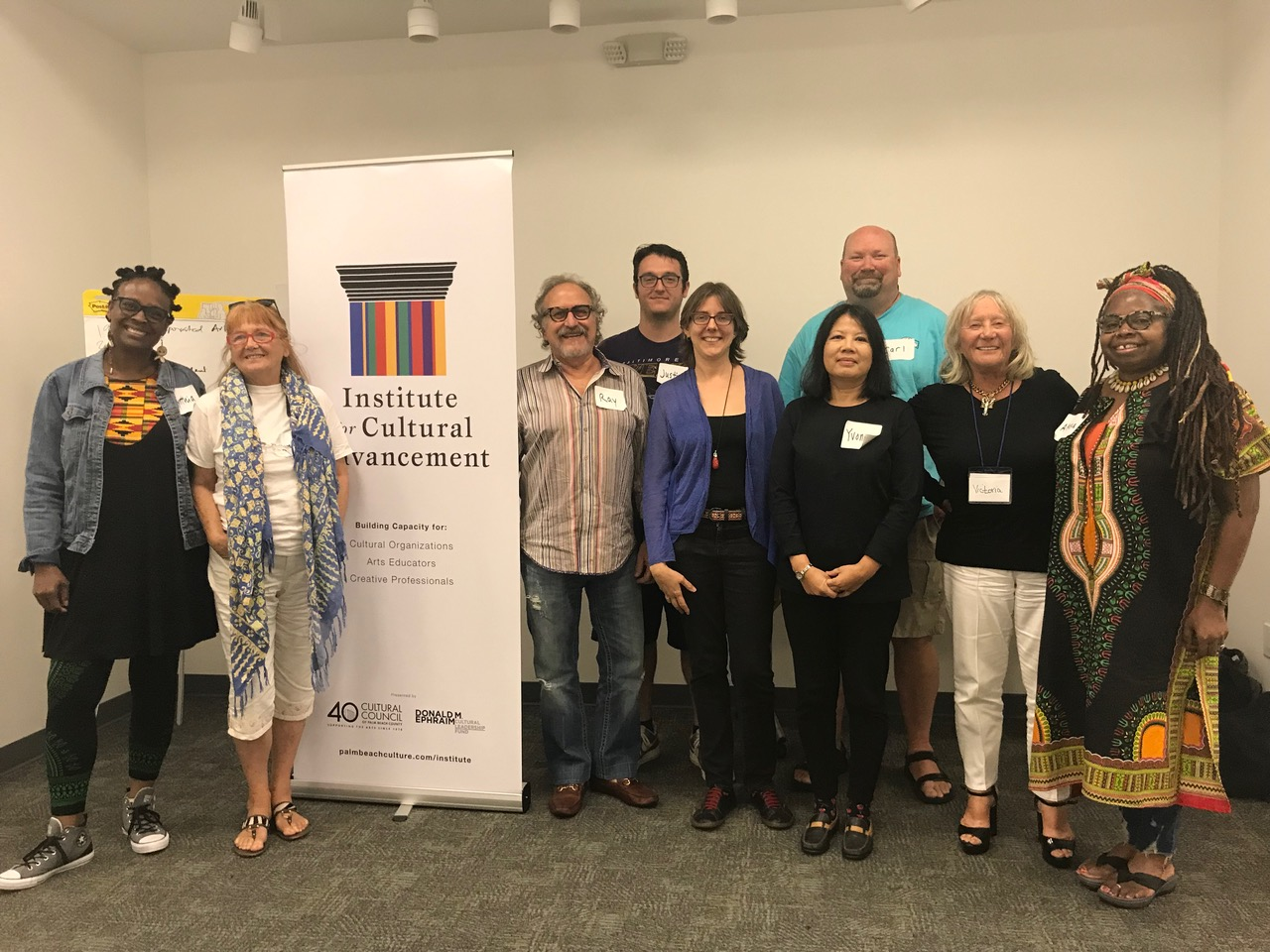 Institute for Cultural Advancement artist workshop