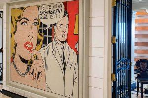 Lichtenstein - Engagement Ring - Ronnie Heyman collection, art&culture