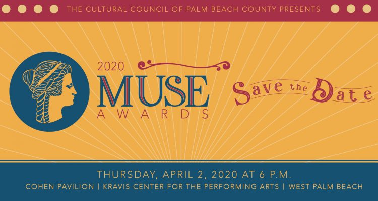 Save the date for the 2020 Muse Awards