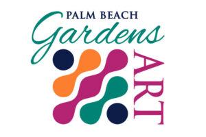 City of Palm Beach Gardens GardensArt 2020 Logo