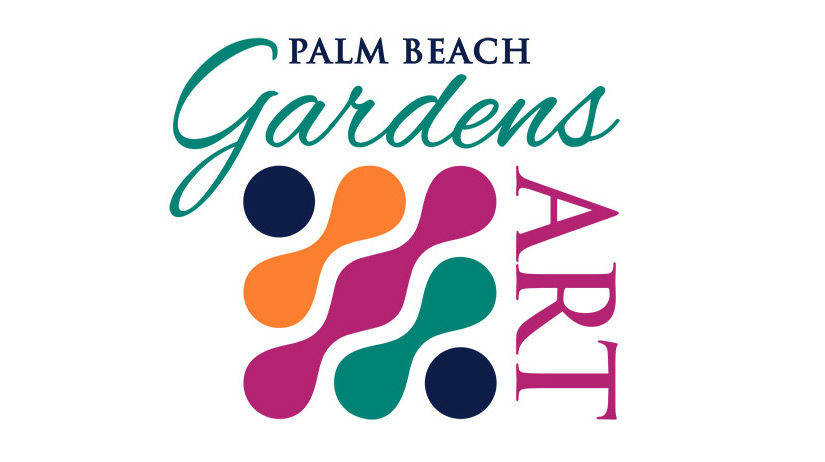 City of Palm Beach Gardens GardensArt 2020 Logo