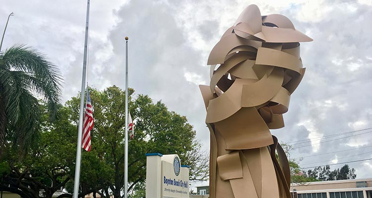 Albert Paley Art on the Avenue Boynton Beach