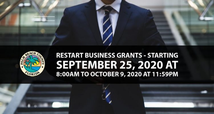 Palm Beach County CARES Restart Business Program