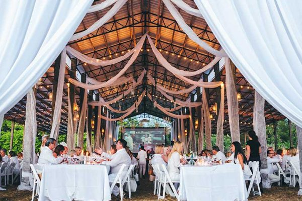 Swank Table - Diner en Blanc 2016