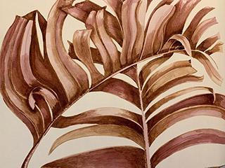 Talin Lyman - Palm Leaves I