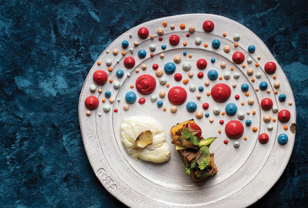Bacon and Eggs - Chef Gustavo Calderon - art&culture magazine