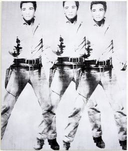 Triple Elvis by Bruce Helander