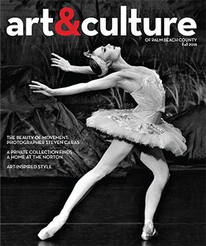 art&culture magazine of Palm Beach County Fall 2018 issue
