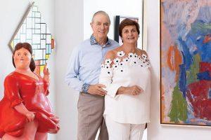 Bob and Pam Goergen Art Culture Magazine Spring Summer