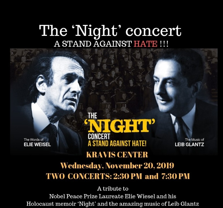 "The ""Night"" Concert: A Tribute to Elie Weisel"