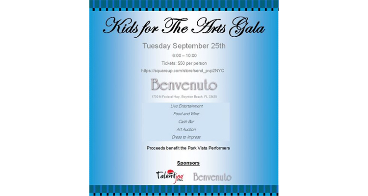 TalentJoe Kids for the Arts Gala