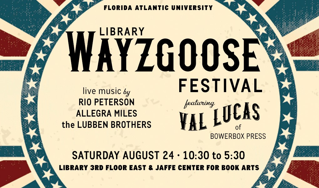 2nd Annual Wayzgoose Festival